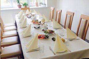 """Funeral dinner, cafe """"Agapė"""""""