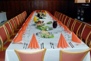 "Funeral dinner, hotel ""Domus Maria"""