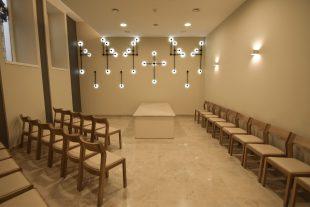 Funeral room Nr.4, Bl.J.Matulaičio sq. 3a, Viršuliškės