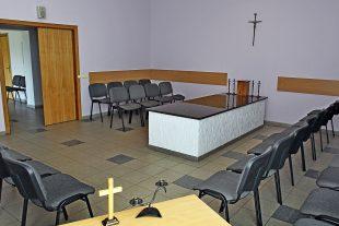 Funeral room Nr.2, Tolminkiemio st.4, Pilaitė