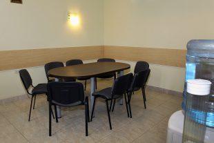 Rest room near funeral room Nr.2, Bažnyčios sq. 4, Ignalina