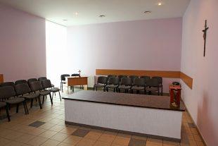 Funeral room Nr.1, Tolminkiemio st.4, Pilaitė