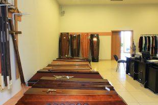 Funeral goods store near funeral room, Įkalnės st.7, Pabradė
