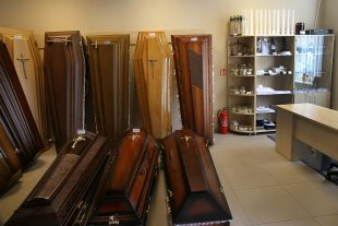 Funeral goods store near funeral room, Palydovo st.13, Naujoji  Vilnia