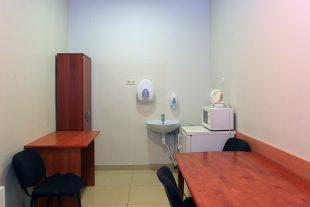 Rest room near funeral room, Įkalnės st.7, Pabradė