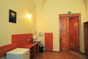 Rest room near funeral room Nr.2, Paco st.4, Antakalnis